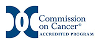 Commission of Cancer accredited program logo