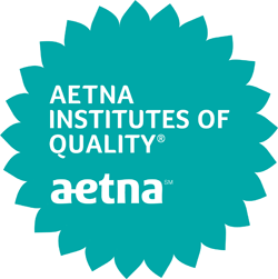 Aetna Institutes of Quality badge