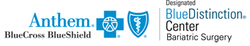 Anthem BlueCross designated Blue Distinction Center Bariatric Surgery logo