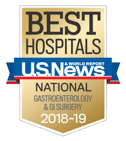 US News UCH Best Hospitals Gastroenterology GI Surgery 2018-19