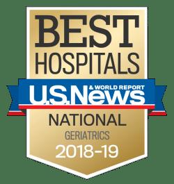 US News UCH Best Hospitals Geriatrics 2018-19