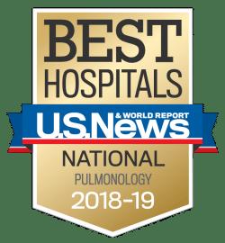 US News UCH Best Hospitals Pulmonology