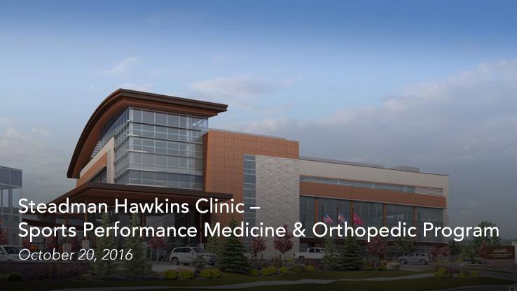 Steadman Hawkins Clinic