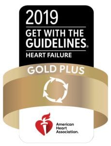 Get With the Guidelines 2019 Gold Plus badge
