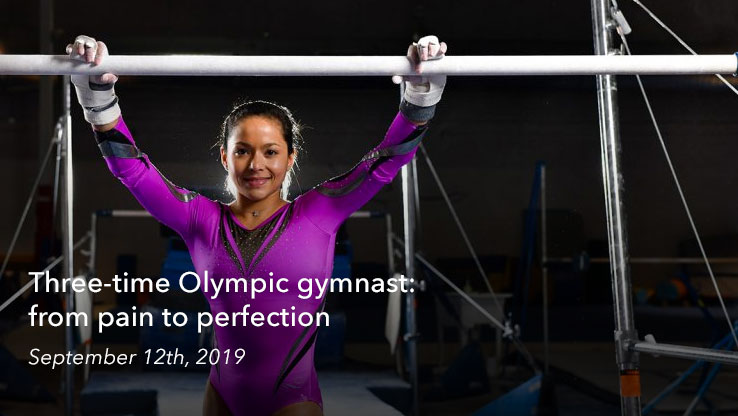 Three-time Olympic gymnast: from pain to perfection