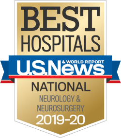 US News Best Hospitals Badge Neurology Neurosurgery 2019-20