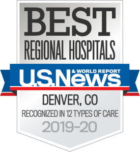 US News Badge UCH Recognized in 12 Care Types 2019-20